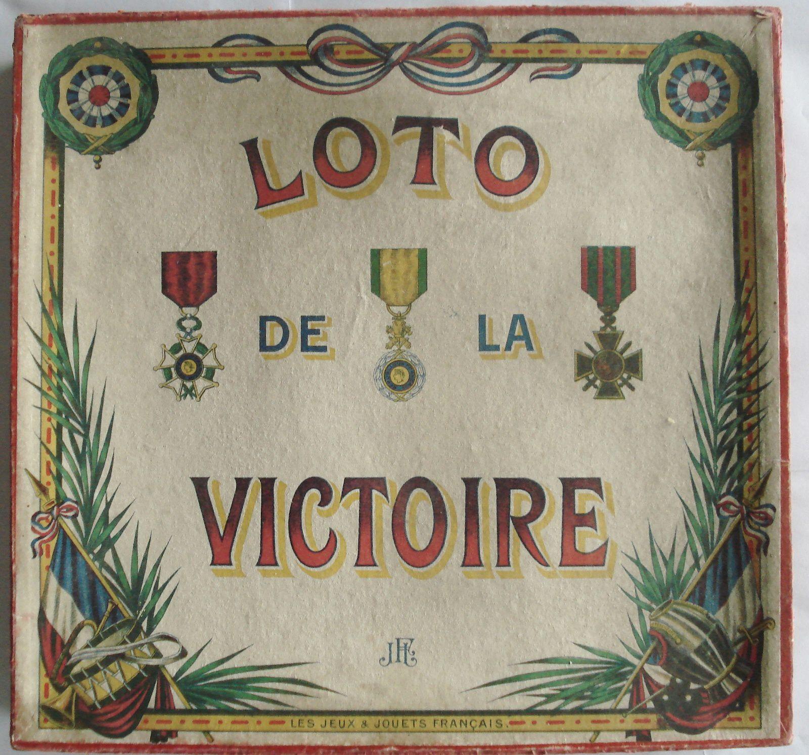 loto de la victoire par JJF ; des médailles sont à gagner !