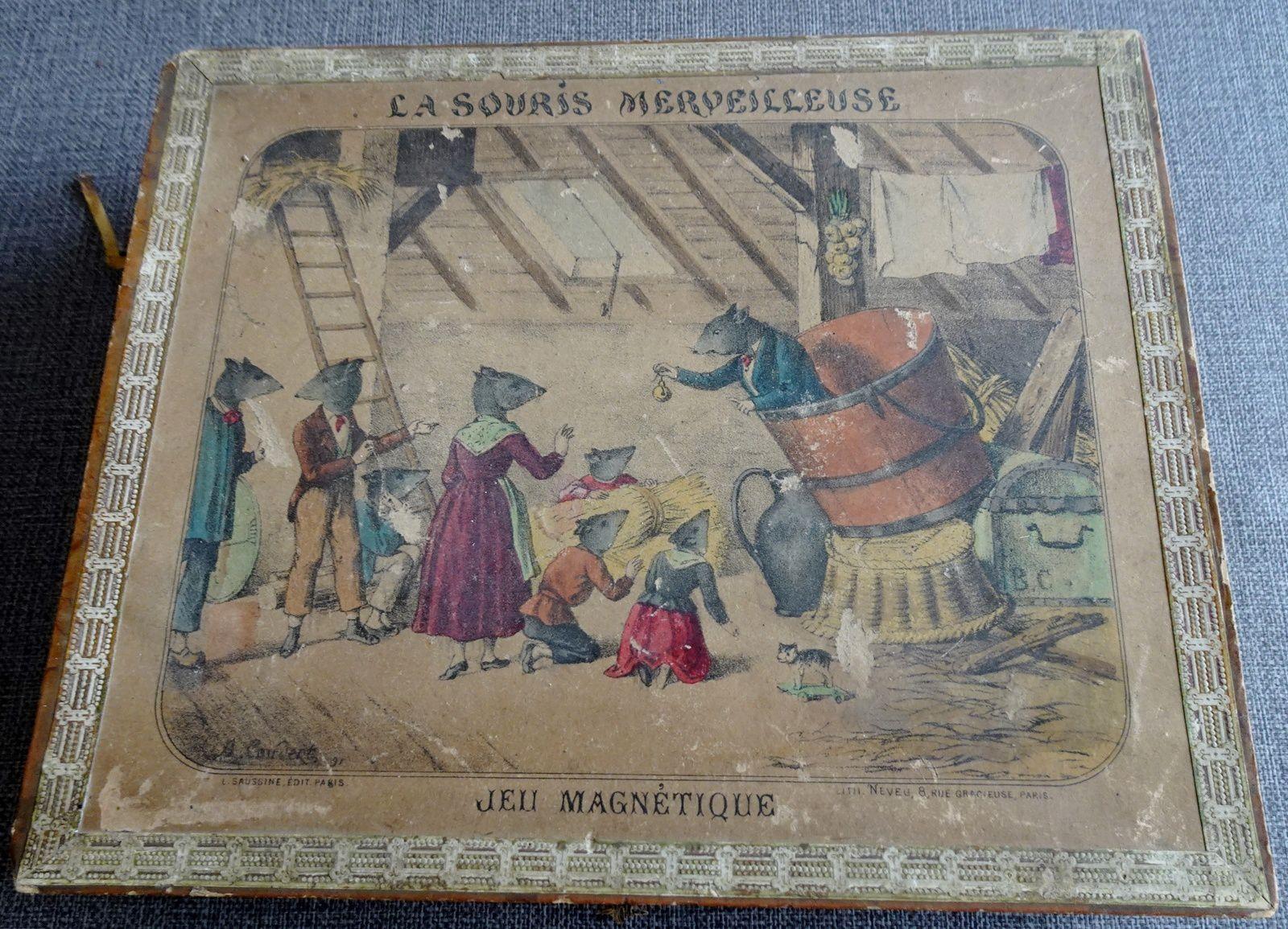 la souris merveilleuse  L.Saussine, Coudert, Neveu