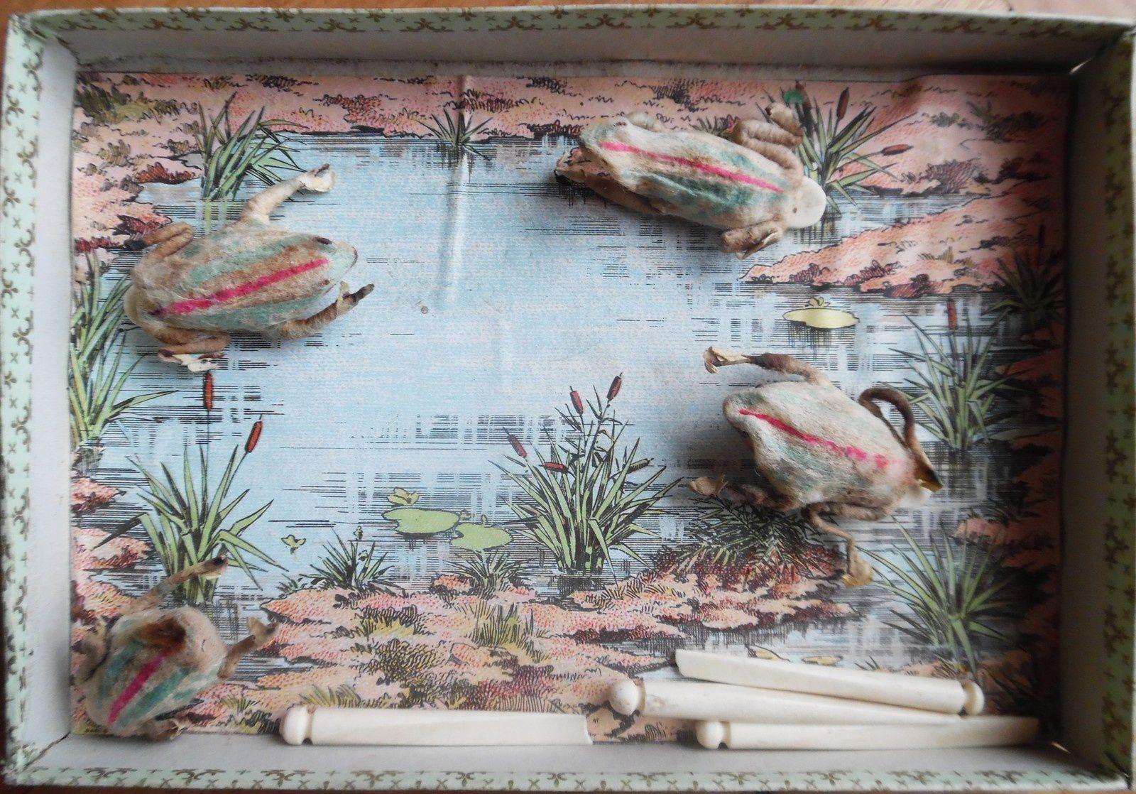 la mare au grenouilles (jeu de puces)