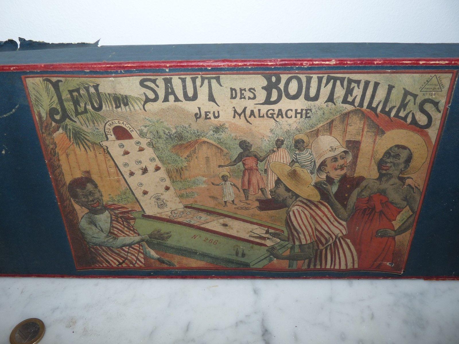 jeu du saut des bouteilles (jeu malgache)