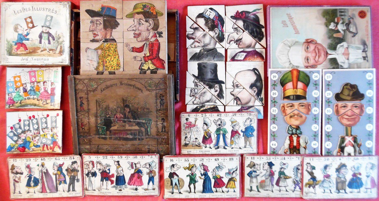 caricatures et métamorphoses...