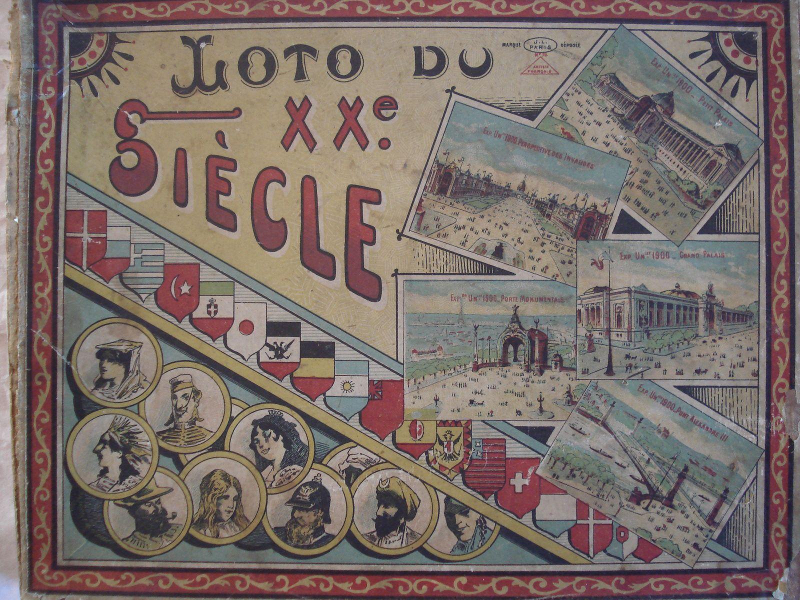 loto du XXème siècle - expo universelle de 1900