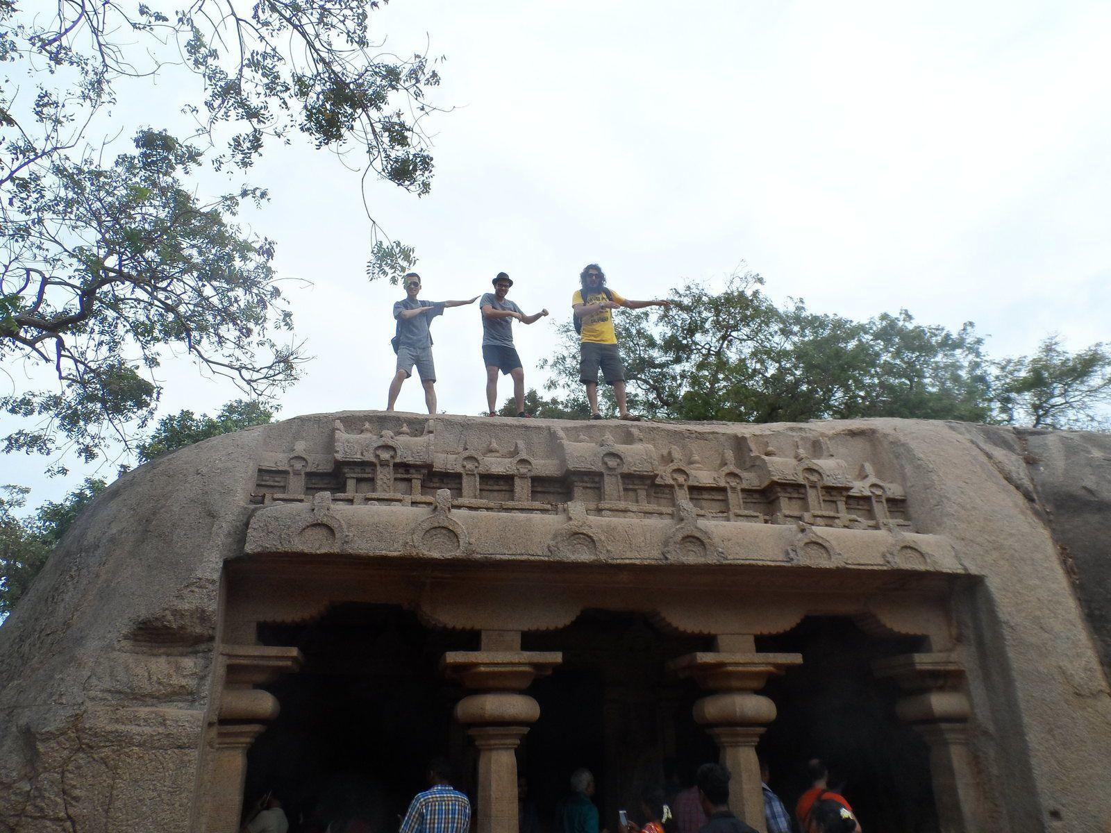Mamalapuram, temples et venin