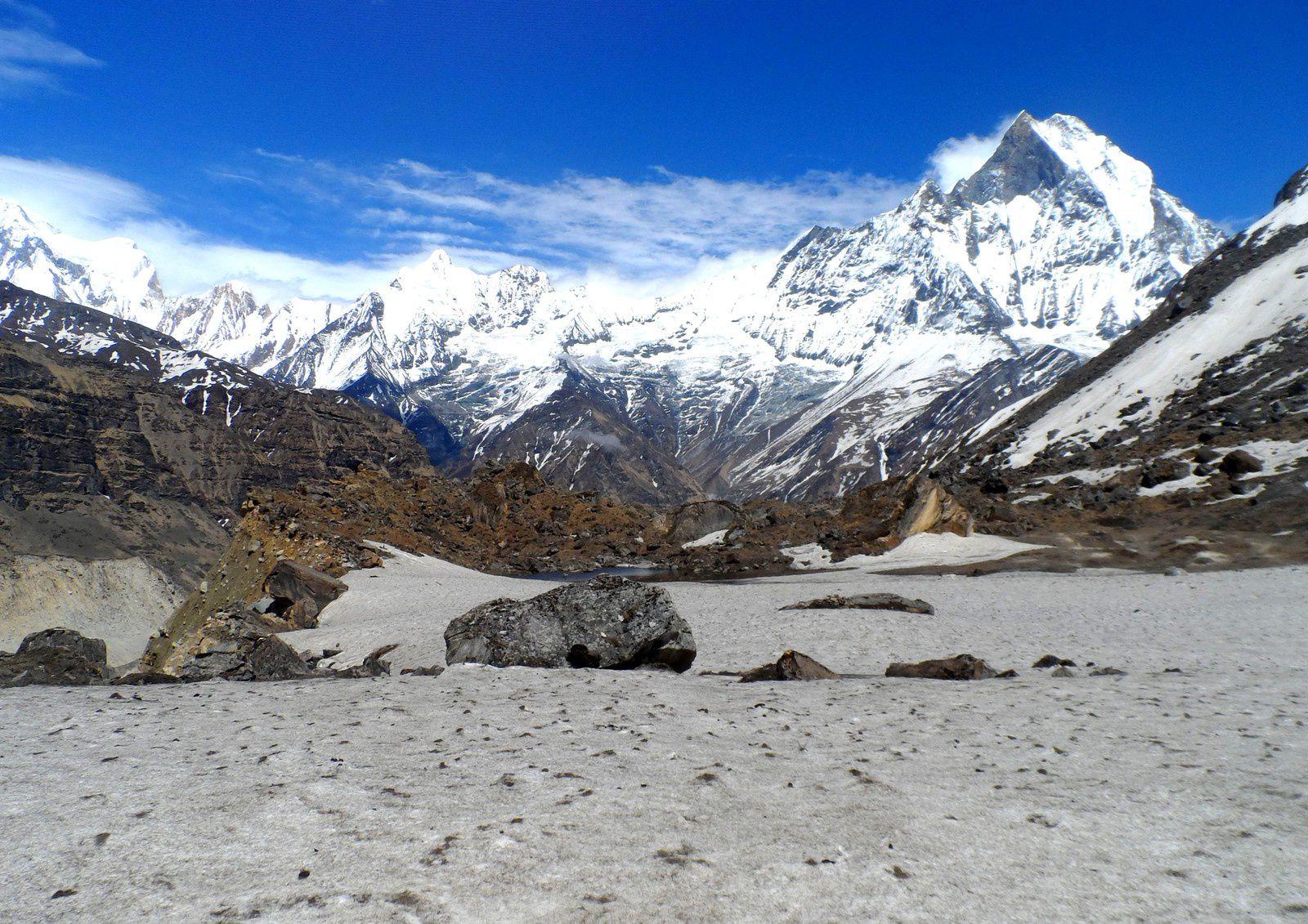 Le camp de base de l'Annapurna