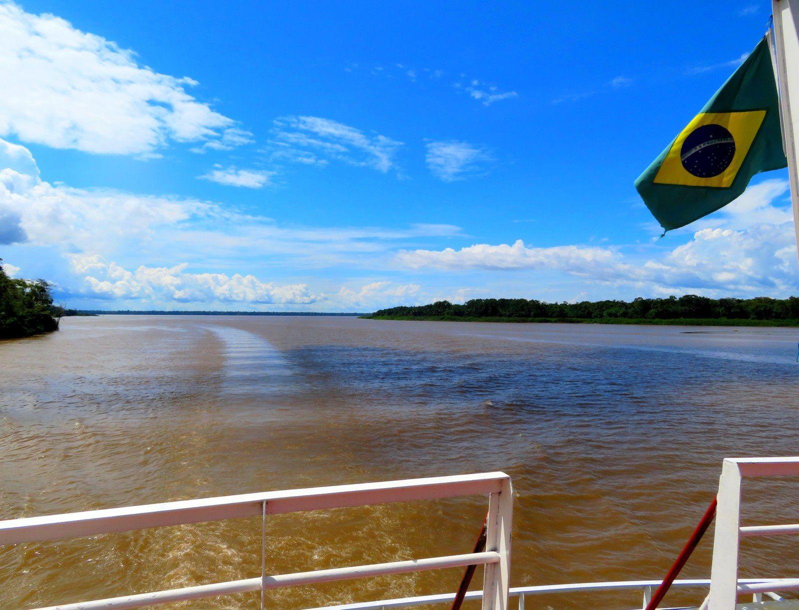 La traversée de l'Amazone