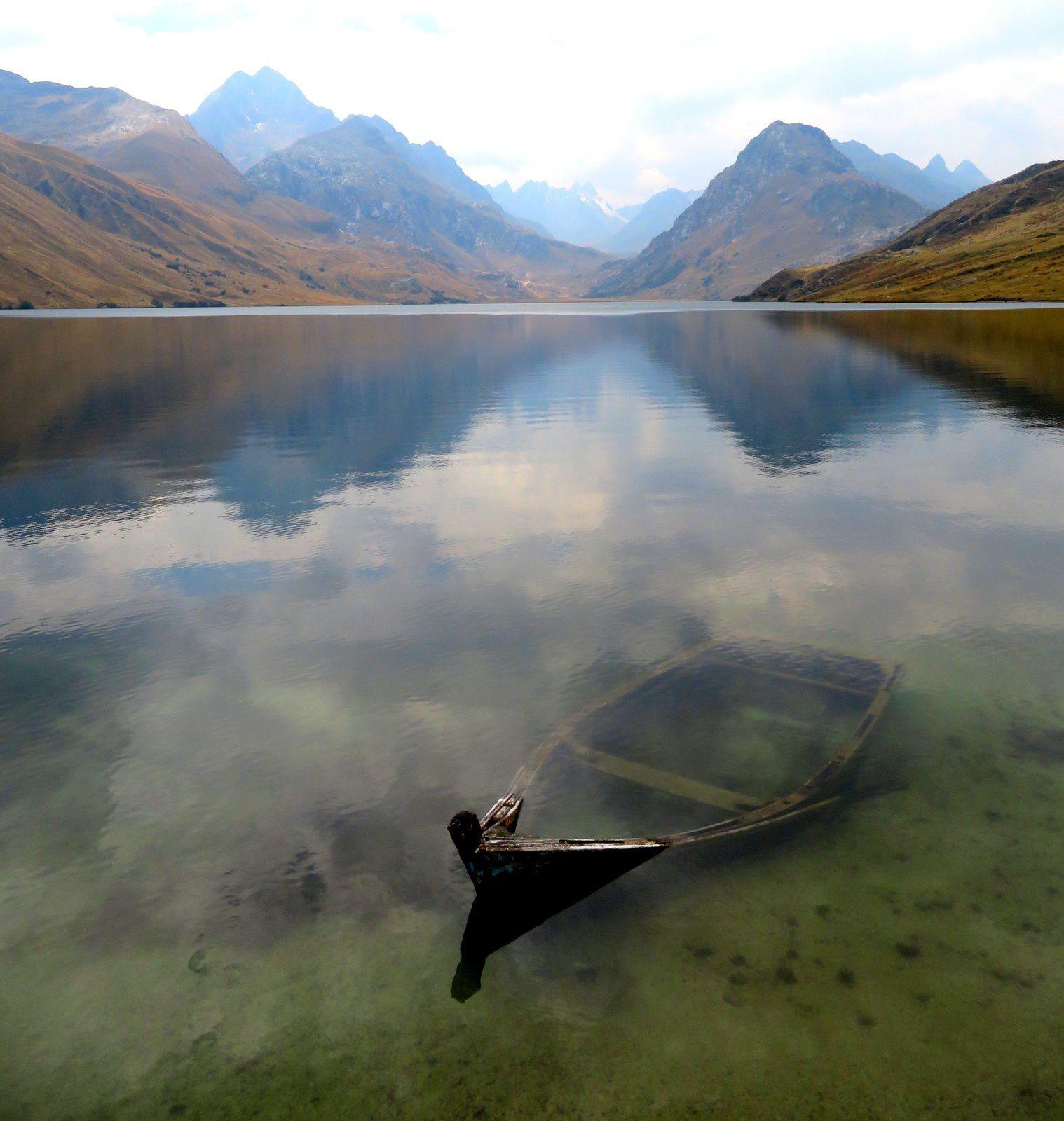 Chavin de Huantar et le lac de Paron