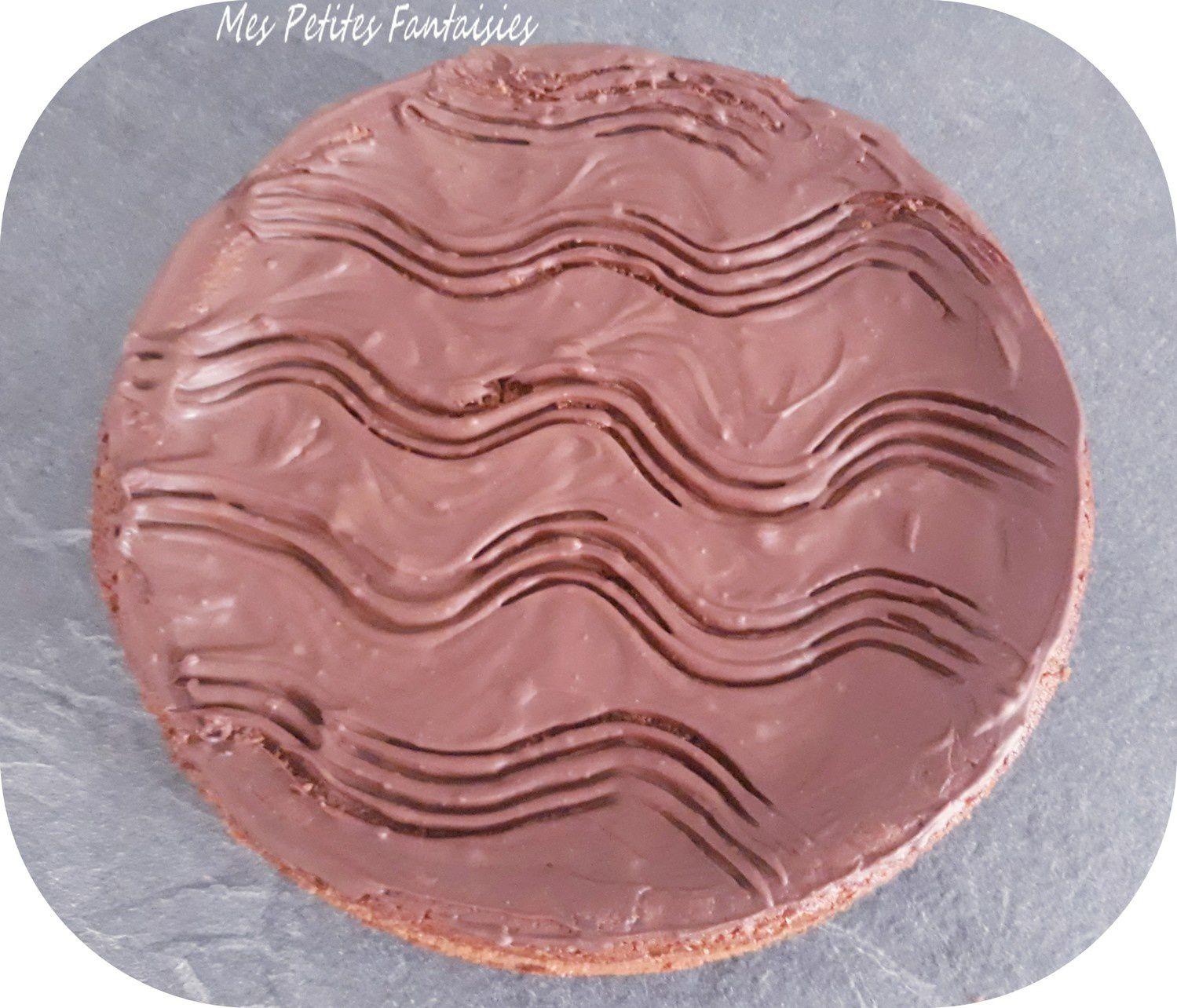 Gâteau au chocolat et à la crème fraîche
