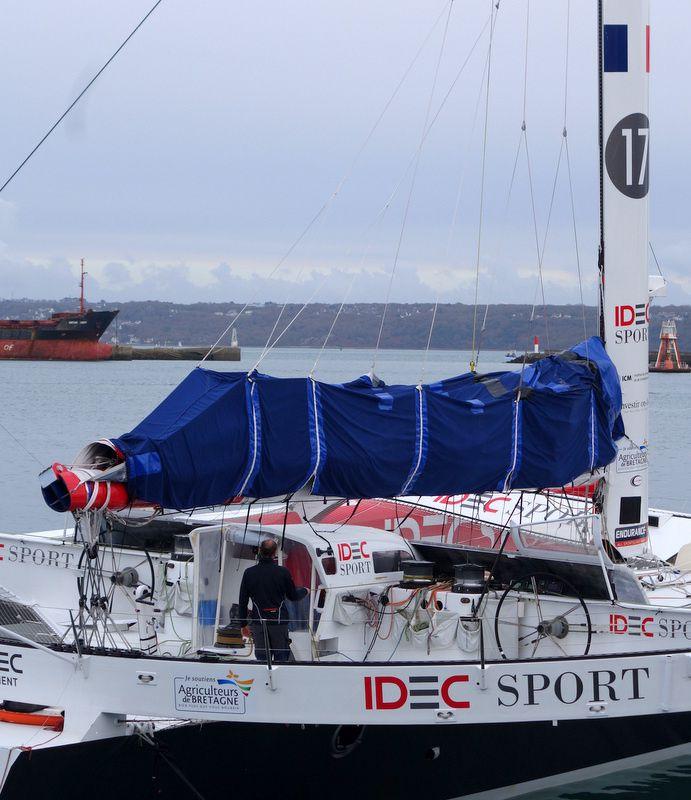 3ème essai sur le record du Jules Verne par IDEC SPORT
