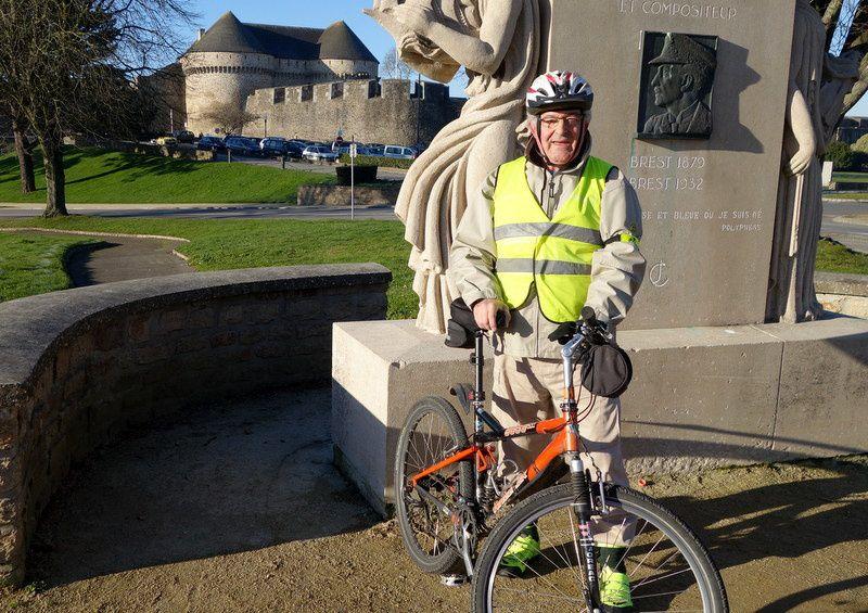 f)à bicyclette dans BREST le 23 janvier 2017