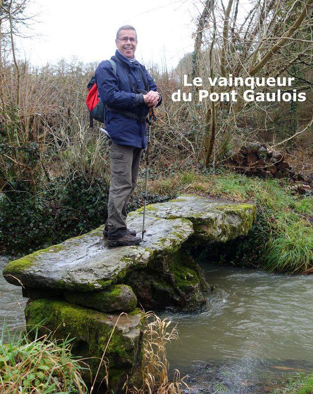 """Le """"Pont gaulois"""" de Kervon à Crozon."""