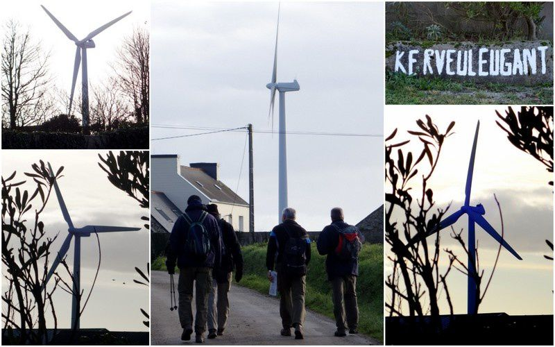 Des éoliennes dans le Pays de Brest