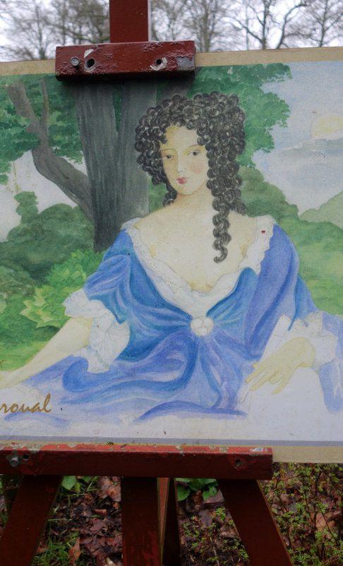 Louise de Keroual, maîtresse du roi d'Angleterre Charles II