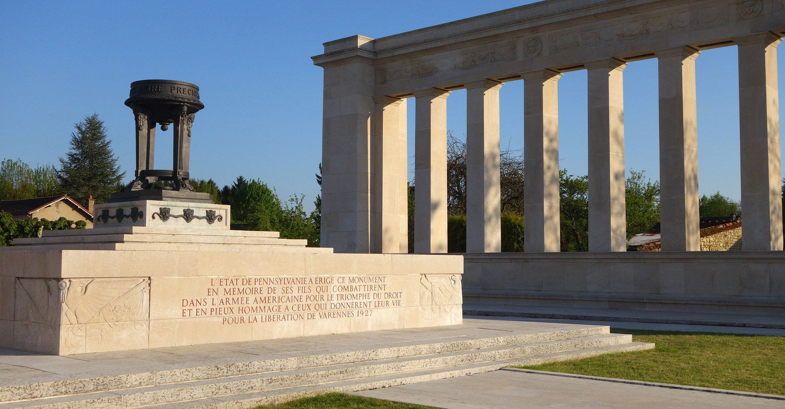 Varennes-en-Argonne : la fuite manquée des 20 et 21 juin 1791 et le monument de Pennsylvanie