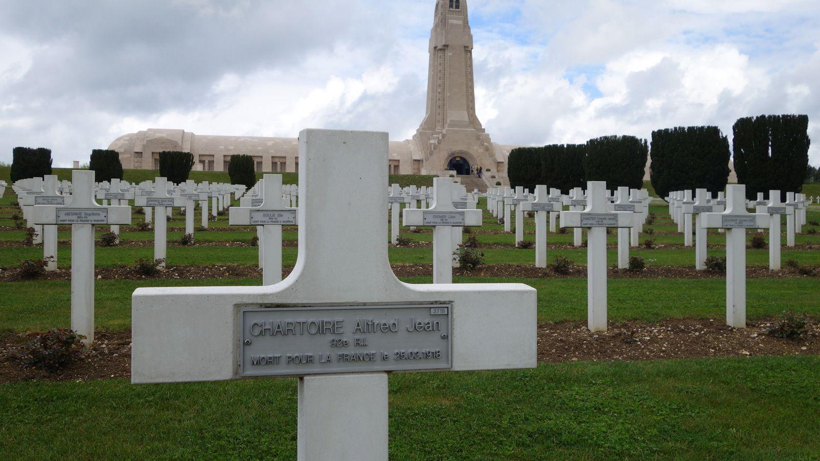 l'Ossuaire de Douaumont