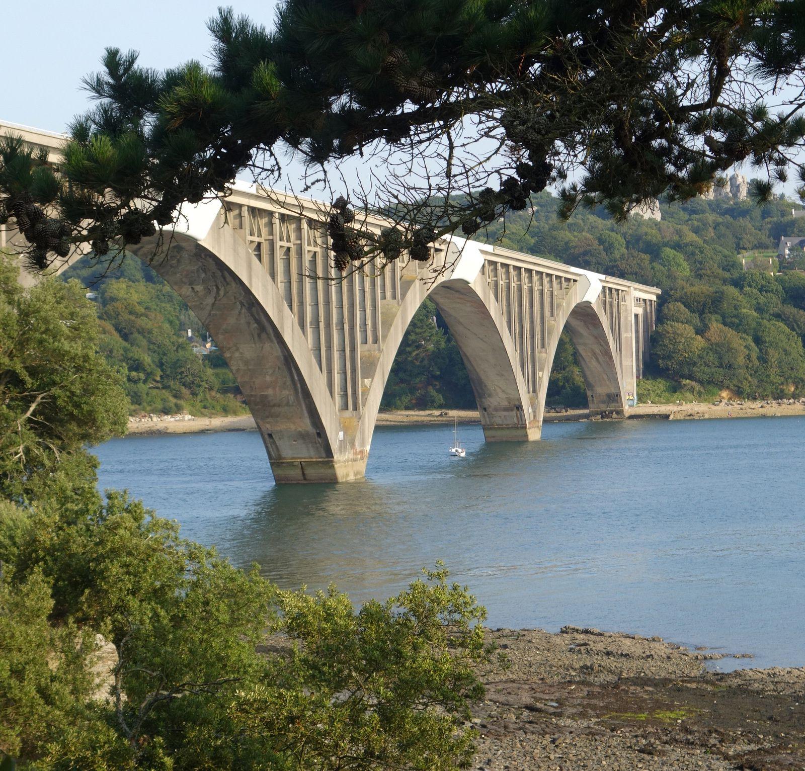 Les ponts Albert Louppe et de l'Iroise