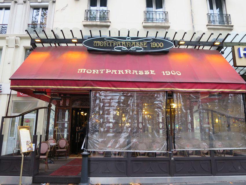 Le Montparnasse 1900, 59 Boulevard du Montparnasse, 75006 Paris. Métro Montparnasse-Bienvenüe. Ph. Delahaye.