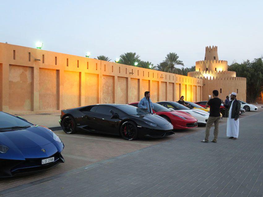 Quelques-unes des voitures exposées. Ph. Delahaye.