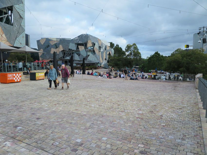 Federation Square. Ph. Delahaye.