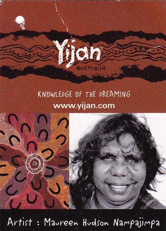 Aborigène reconnue pour son talent.