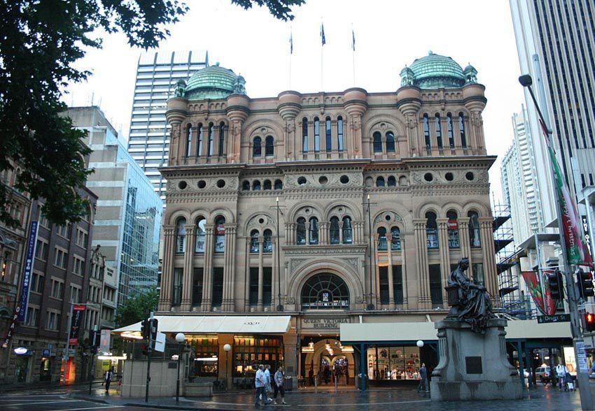 Le Queen Victoria building. Ph. Delahaye.