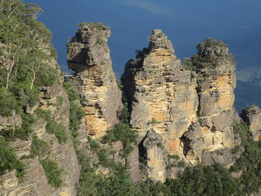 Les Trois Sœurs des Blue Mountains. Ph. Delahaye.