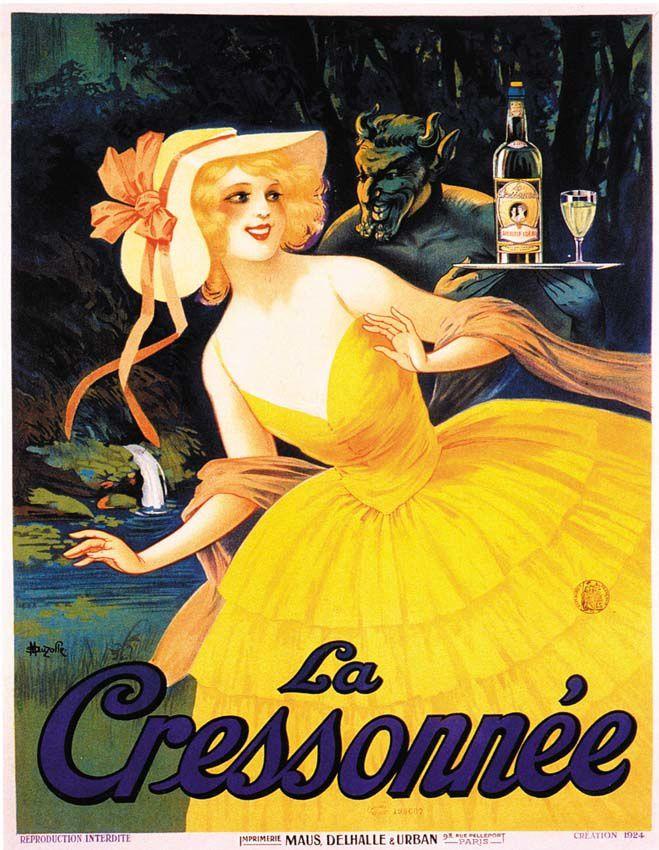 Affiche de M. Auzolle, 1924. Coll. Delahaye.