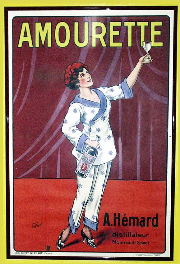 Affiche lithographiée d'après Rahuel, 1922. Coll. Walburger
