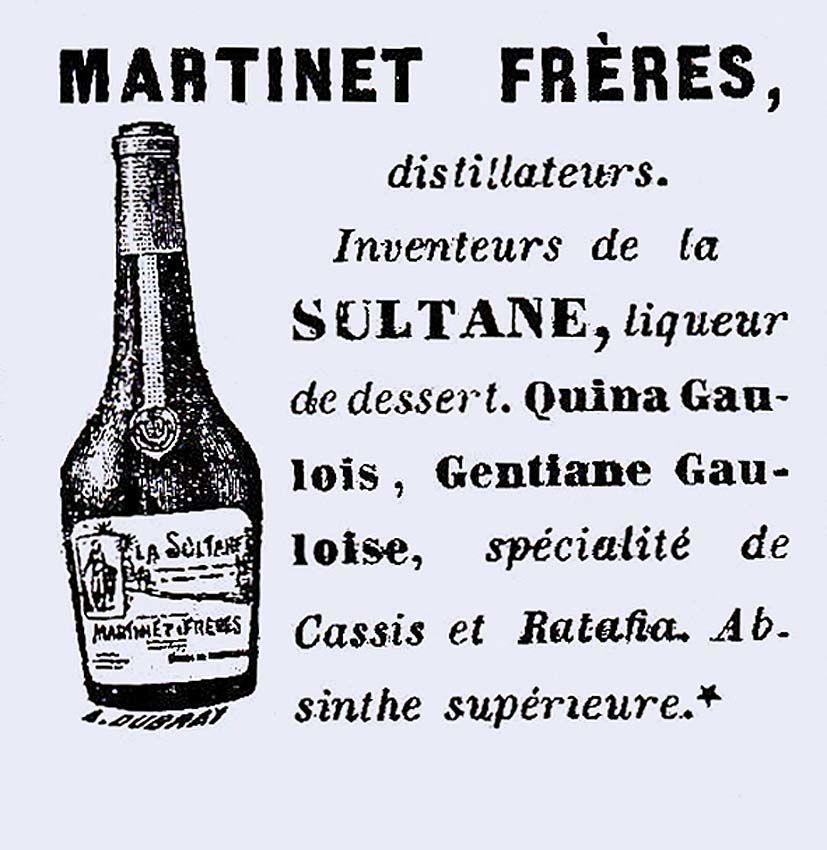 Publicité parue dans l'Annuaire du commerce de l'Isère en 1907. Doc. Delahaye.