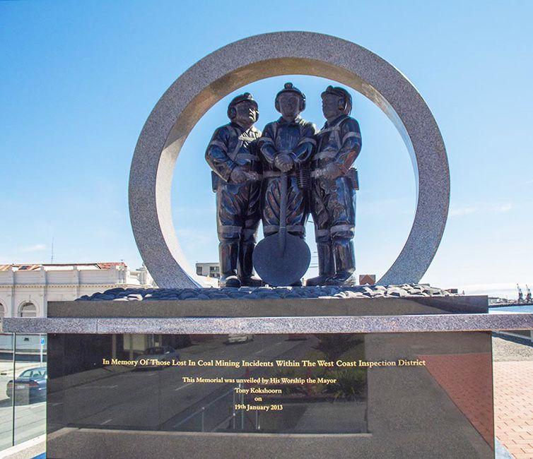 Mémorial pour les mineurs.
