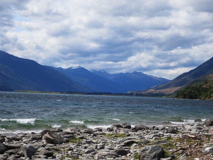 Le lac Wanaka. Ph. Delahaye.