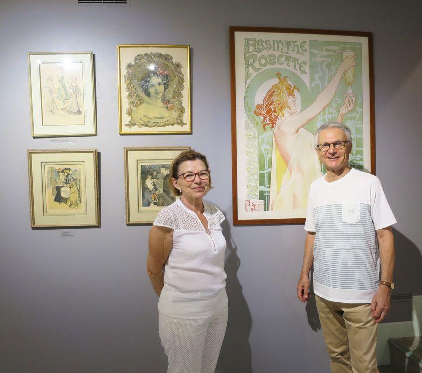 Christiane et Benoît, collectionneurs depuis près de 30 ans.