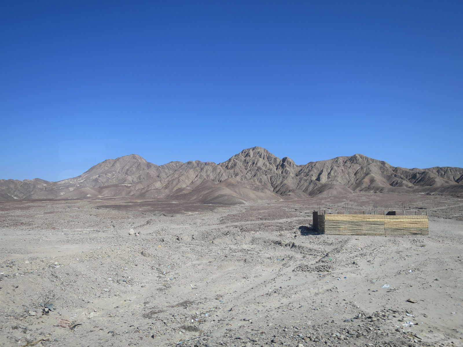 Entre Ica et Nazca. Ph. Delahaye.