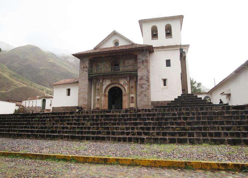 La Chapelle sixtine d'Andahuaylillas. Ph. Delahaye.