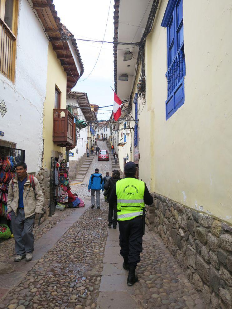 Rues du quartier San Blas. Ph. Delahaye.