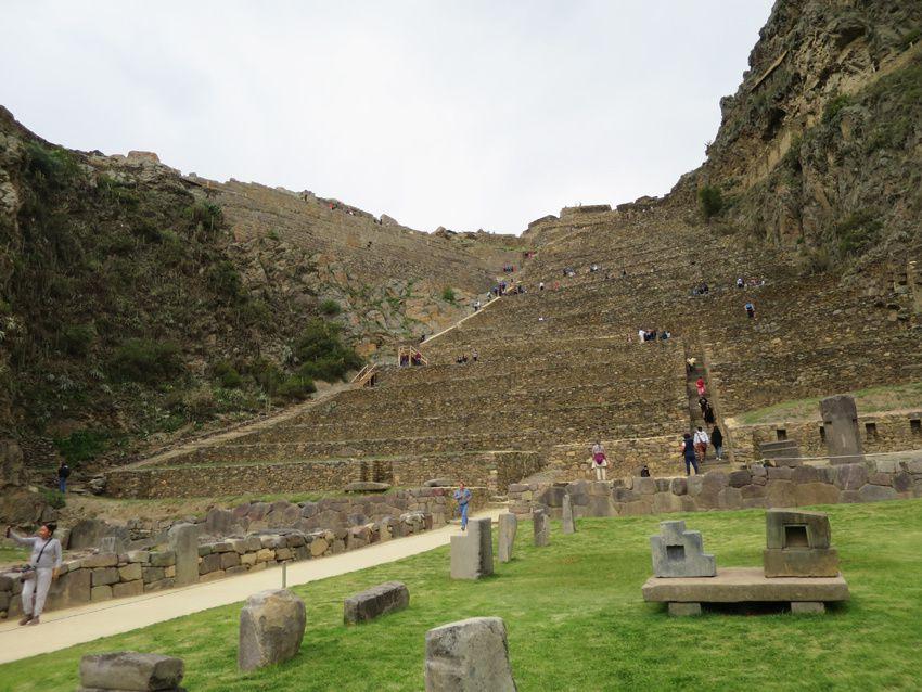 La forteresse d'Ollantaytambo. Ph. Delahaye.