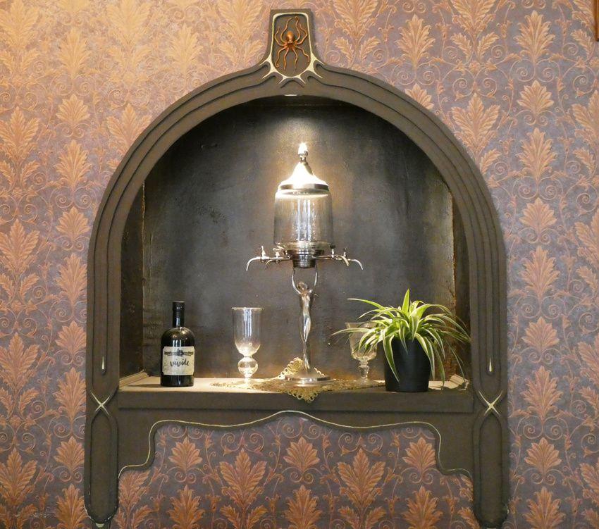 D'emblée, les fontaines en bonne place créent l'ambiance. Ph. Delahaye.