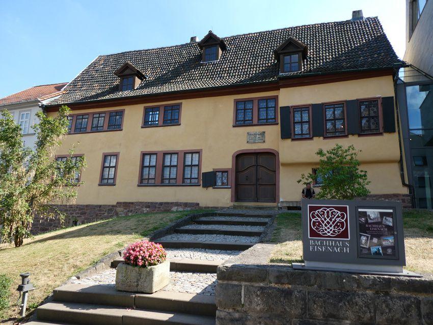La maison de Jean-Sébastien Bach. Ph. Delahaye.
