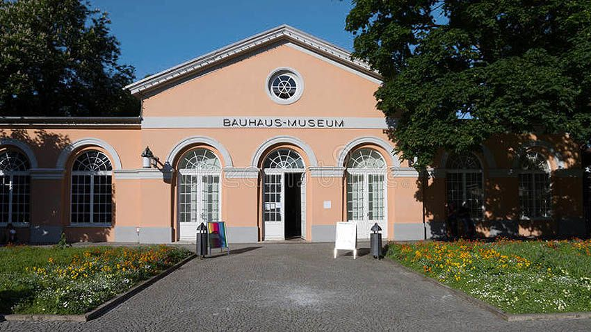 Le Bahaus museum. Ph. Delahaye.
