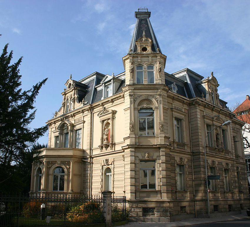 La villa Dessauer. Ph. Delahaye.