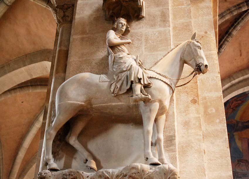 Le Cavalier de Bamberg. Ph. Delahaye.