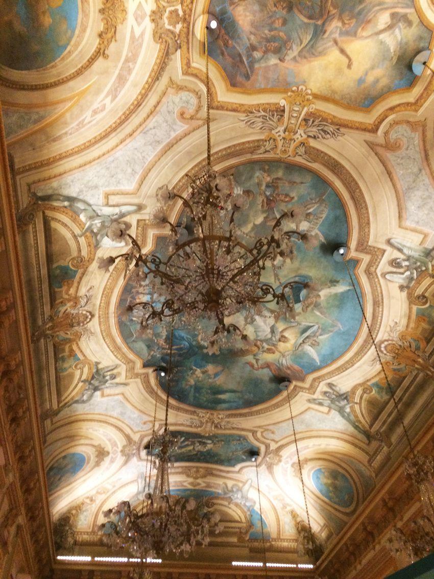 Aperçu du plafond. Ph. Delahaye.