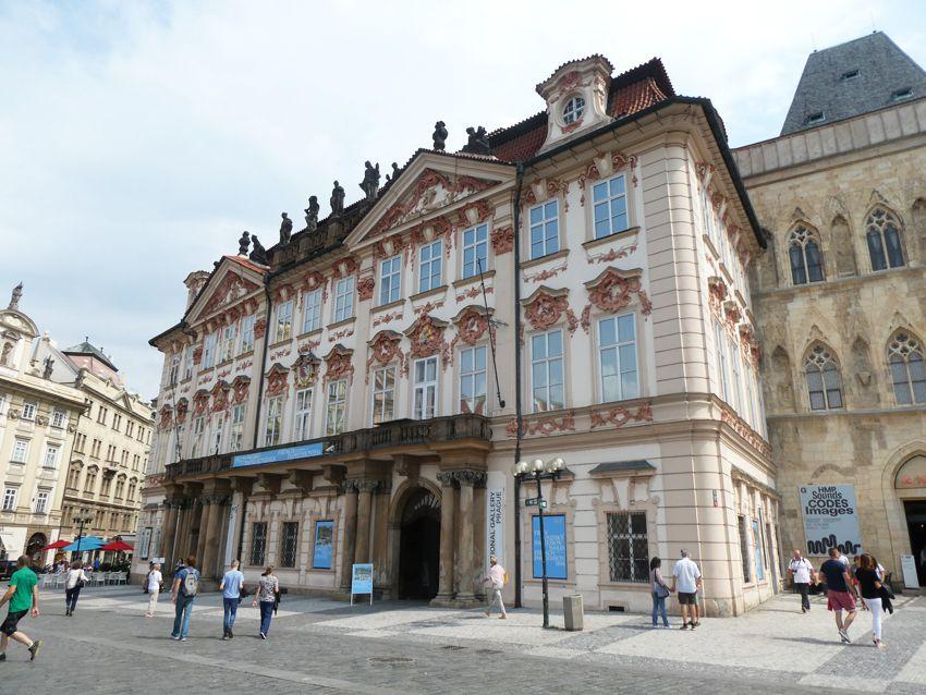 Le Palais Kinsky. Ph. Delahaye.