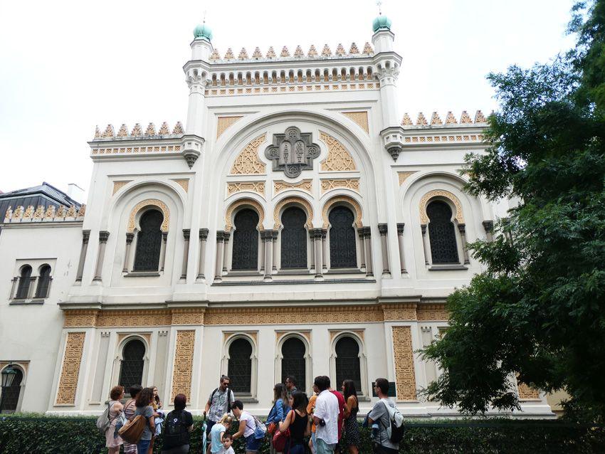 La Synagogue espagnole. Ph. Delahaye.