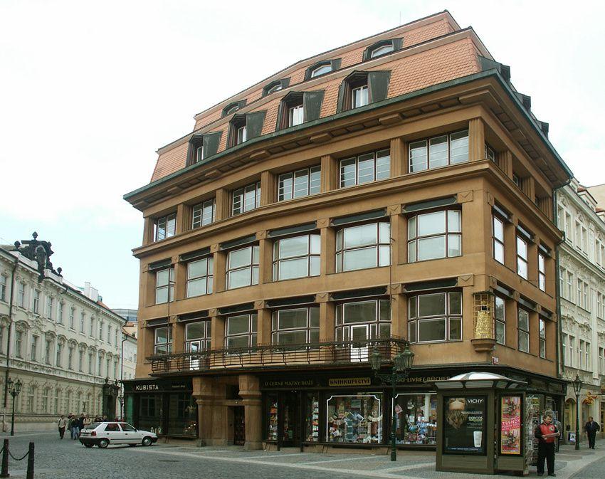 La Maison à la Vierge noire. Ph. Prague.net.