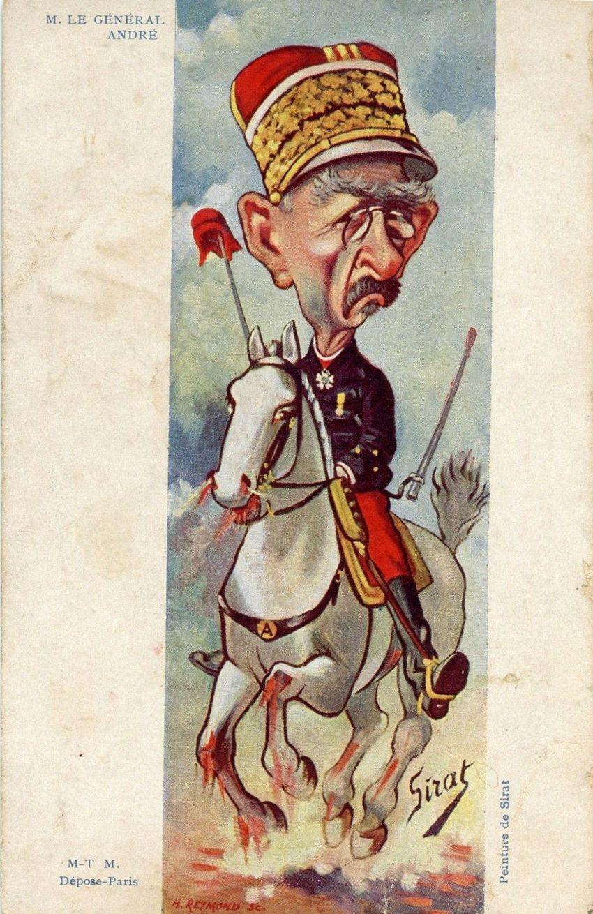 Le général André par Sirat.