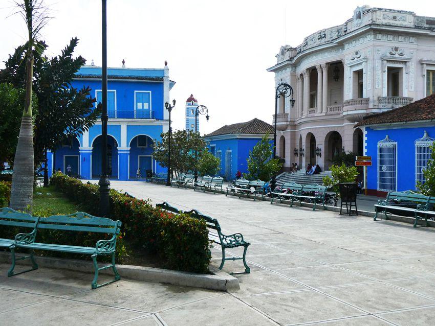 Le Teatro Principal date de 1839 et est l'un des plus anciens théâtres de Cuba. Ph. Delahaye.