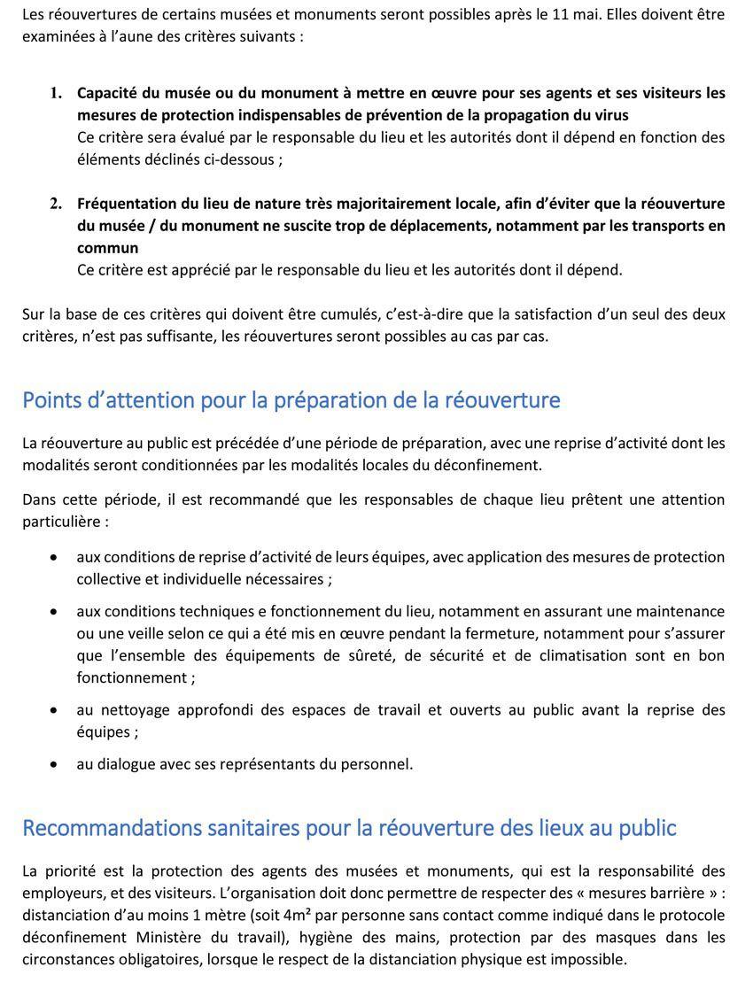 Document édité par le Ministère de la Culture.