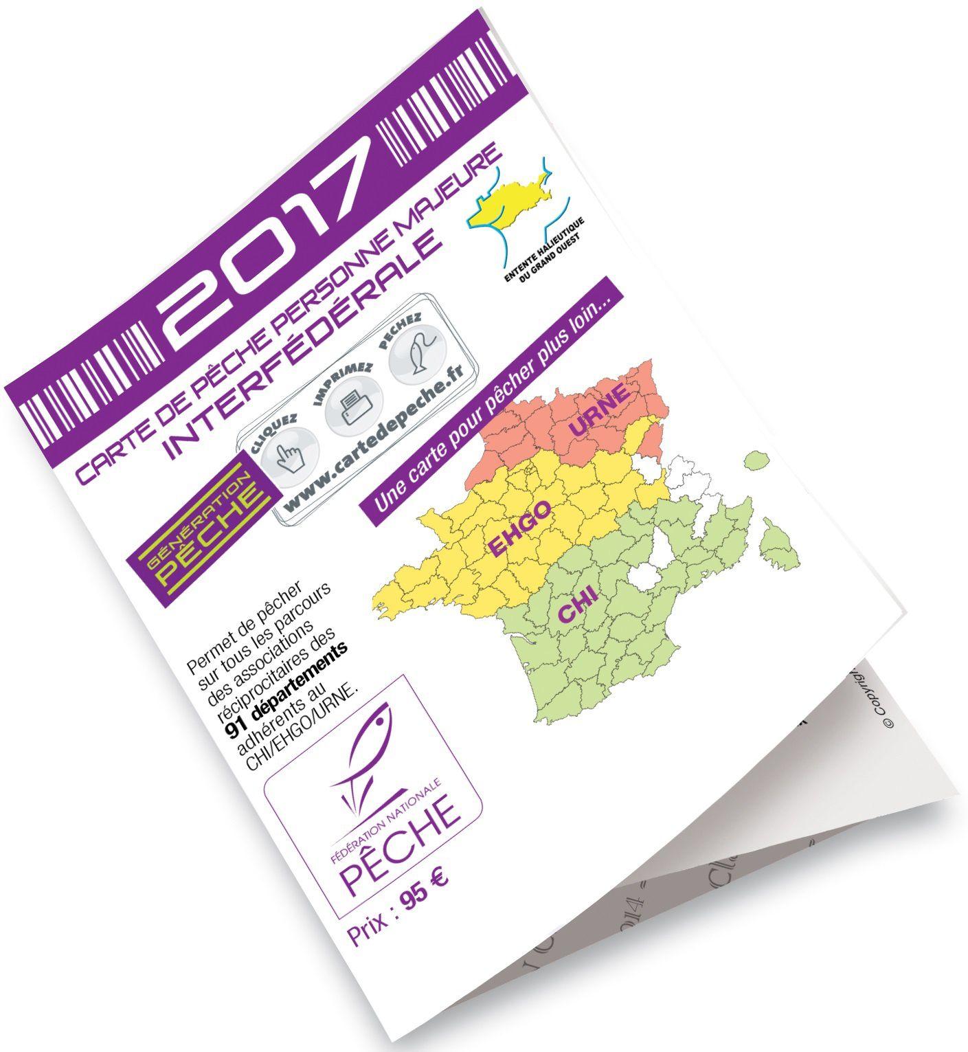 Tarifs des cartes de pêche 2017 ( département de l'Ardèche)