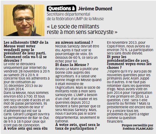 """Eléctions à l'UMP: et maintenant le """"temps de l'action"""" !"""
