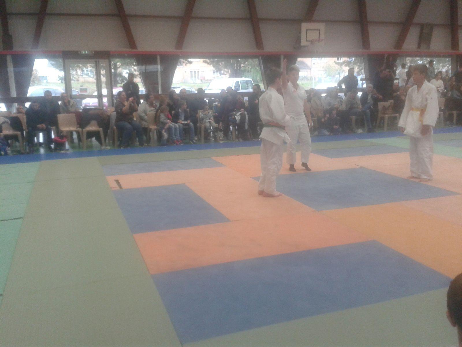 Tournoi du Judo Club de VILLERS-OUTREAUX (59) les 05 et 06/11/16